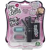 Giochi Preziosi 70150511 - Very Bella Dark Hair Colors, wasserlösliche Kinderschminke, pink/blau