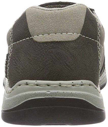 Rieker 15265 Loafers & Mocassins-Men, Mocassins homme Gris - Grau (anthrazit/cement/vapor / 46)