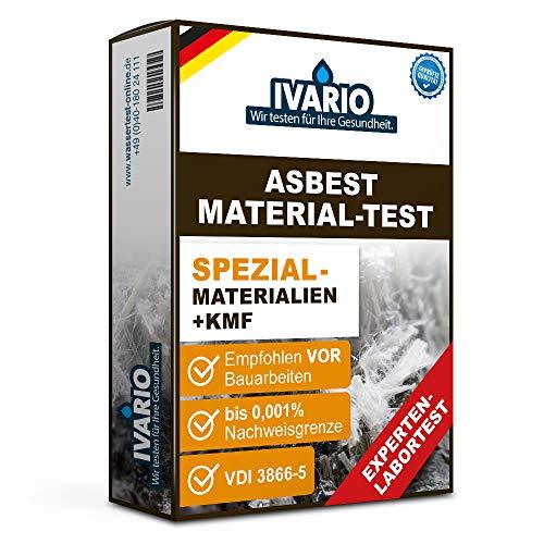 Asbest-Test Materialen Spezial + KMF/REM-Methode gemäß VDI 3866. Express-Asbestanalyse im akkreditierten Deutschen Fachlabor/24h-Versand/kostenlose Expertenberatung/Einfache Probenahme