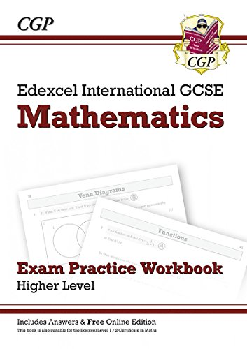 Edexcel Certificate/International GCSE Maths Exam Practice Workbook with Ans & Online Edition (A*-G)