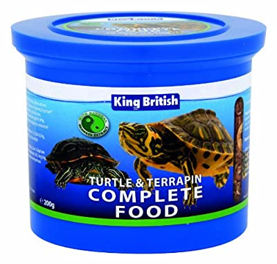 King British Turtle and Terrapin Food 200 g by Beaphar Uk Ltd