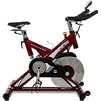 Preisvergleich für BH Fitness HELIOS H9178FD – Indoorbike/Indoorcycling - 22kg Schwunggewicht/ PoliV-Riemen/ LCD-Monitor