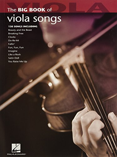 The Big Book Of Viola Songs. Viola Solo Book: Noten für Viola (Big Book (Hal Leonard))
