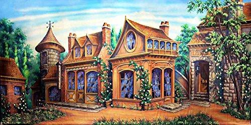 GladsBuy ACP-404 Fotohintergrund, Motiv: The Rich House (englischsprachig)