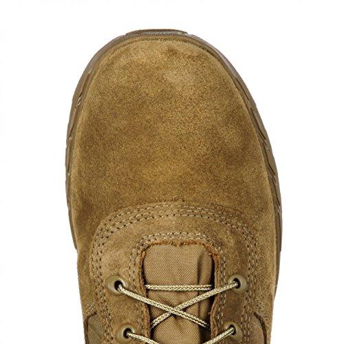 Rocky Boots RKC065 W C7 Military Coyote Brown/Herren Military Stiefel Braun/Outdoorstiefel/Armeestiefel Brown (Weite W)