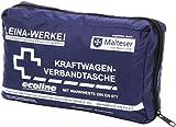 Leina-Werke 11049 KFZ-Verbandtasche Compact mit Warnweste Ecoline ohne Klett, Blau/Weiß