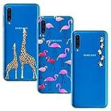 BAOWEI [3-Pack] for Samsung Galaxy A50 Case, Ultra Thin