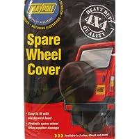 """Maypole MP94429 - Cubierta para rueda de repuesto de 4x4 (29""""), color negro"""