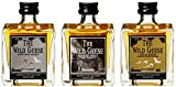 Wild Geese The Miniset mit Geschenkverpackung  Whisky (1 x 0.15 l)