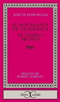 El estudiante de Salamanca (CLASICOS CASTALIA. C/C.) de [Espronceda, Jose de]