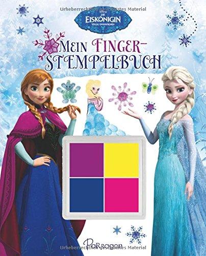 Disney Die Eiskönigin Mein Fingerstempelbuch: Mit 4 zauberhaften Fingerfarben (Delphin-malbuch)
