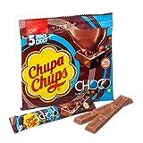 Chupa Chups Choco Snack Milk - 18 Confezioni da 5 barrette [90 barrette]