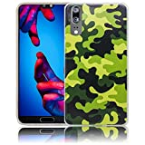 Huawei P20 Camouflage Handy-Hülle Silikon - staubdicht
