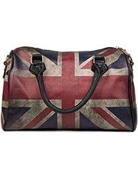 bf36d0b5fd38c styleBREAKER Union Jack Handtasche im Großbritannien Vintage Design