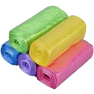 sacs poubelles couleur 5 rouleau tankerstreet 150 sacs plastique 3 10l petits transparents. Black Bedroom Furniture Sets. Home Design Ideas
