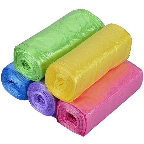 Bolsas de Basura de Colores sin Asas