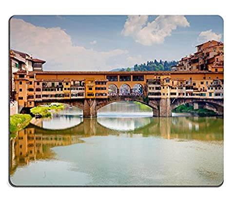 MSD Mousepad IMAGE 30209116 Sunset over the Old Bridge Ponte Vecchio in Florence Italy