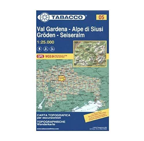 Val Gardena. Alpe di Siusi, Groden - Seiseralm, 1:25.000 [Lingua Italiana]