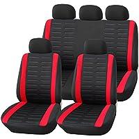 Universal Schonbezug Schonbezüge Sitzbezug Sitzbezüge RS rot OPEL