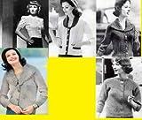 Chandails de fabuleux féminines à – grand tricot modèles pour chandails femmes en tricot (French Edition)