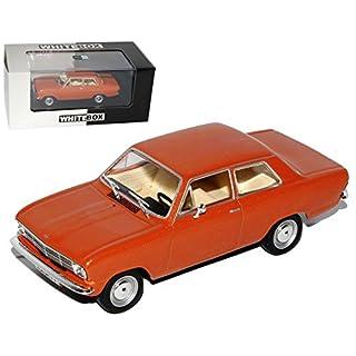 alles-meine.de GmbH Opel Kadett B 3 Türer Kupfer Braun 1965-1973 1/43 Whitebox Modell Auto
