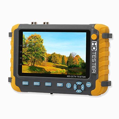 Yblntek Probador cámara CCTV 5 pulgadas AHD TVI CVI