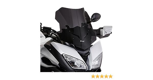 Windschutzscheibe Sport Ermax Für Yamaha Mt 09 Tracer 15 17 Dunkel Getönt Auto