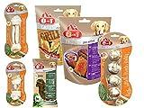 8in1 Snack Pack, Snacks und Kauartikel von 8in1, für Hunde Mix Paket by Zoolox (R) Größe 6 Snacks/Kauartikel