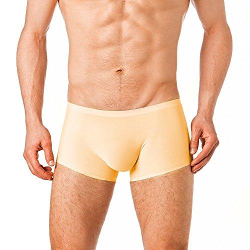 Manview transparente Shorts Herren Boxer Shorts (XXL, Skin) (Herren Shorts Transparent)