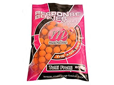 Mainline Carp Fishing Bait - Tutti Frutti Boilies 15MM Handy Pack 200 Gram by Mainline.