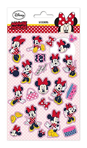 Erik ESS008 Adesivi stickers per bambini - Disney - Minnie Mouse