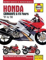 Honda CBR600F2 & F3 Fours '91 to '98 (Haynes Service & Repair Manuals)