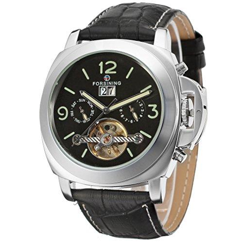 60411d1e1a2b Forsining FSG005M3S2 Reloj de pulsera para hombre