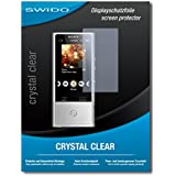 """4 x SWIDO protecteur d'écran Sony NW-ZX100HN film protecteur feuille """"CrystalClear"""" invisible"""