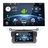 Impianto stereo doppio DIN Android 8.1 per Toyota RAV4 2013/2014/2015,audio in cruscotto con sistema di navigazione GPS 2 veicoli autoradio DIN con schermo capacitivo multi-touch