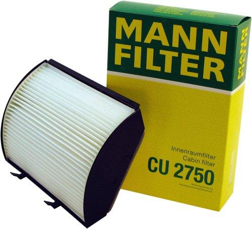 Mann Filter CU2750 Filter, Innenraumluft (Filter V 8 Air)