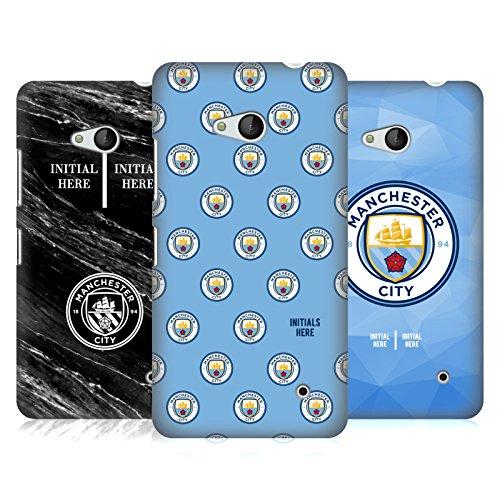 Head Case Designs Manchester City Man City FC Coutume Personnalisé 2017/18 Étui Coque D'Arrière Rigide pour Nokia Téléphones 1