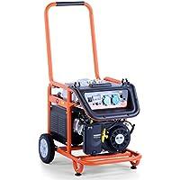 FUXTEC 5.5 KW Motor Benzin Stromerzeuger Stromaggregat Stromgenerator FX-SG3800, TEST HEIMWERKER PRAXIS NOTE 1,5