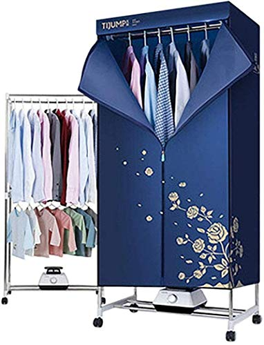Abbigliamento portatile asciugatrice, dormitorio armadio - 1000w - 15 kg (33 lb) portante - energy saving quick dry & efficiente modalità timer automatico digitale - 71.5 * 45 * 152 centimetri (28 * 1