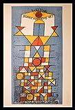 Paul Klee Poster Kunstdruck Bild Bauhaus im Alu Rahmen in schwarz 106x76cm - Germanposters