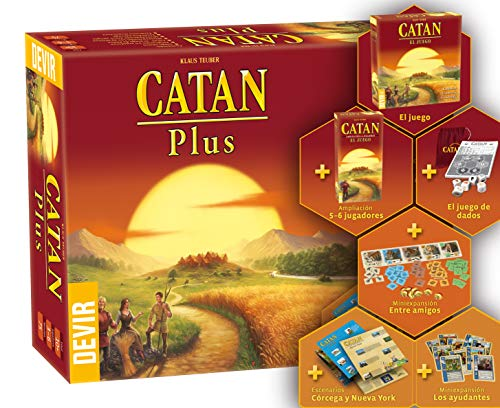 Catan Plus (Devir BGCATANPLUS2)