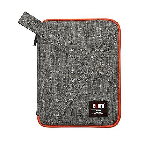 Electronic Sac d'accessoires pour universel câble USB de voyage en nylon étanche Digital Produit Organiseur Coque pour disque dur de sac à main Gris Petite