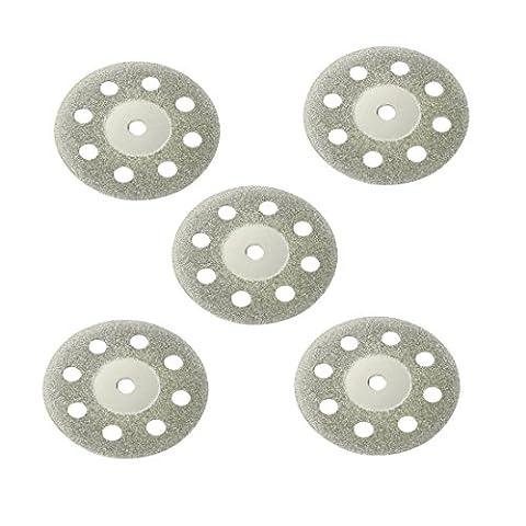sourcingmap® 20mm verre diamant coupe scie Couper 5pcs roue disques