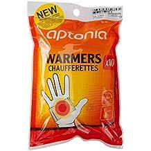 Decathlon Aptonia Calentadores de Manos y Guantes de 65ºC, Pack de 10 ud
