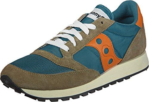 Saucony Jazz Original Vintage, Sneaker Uomo marrone blu