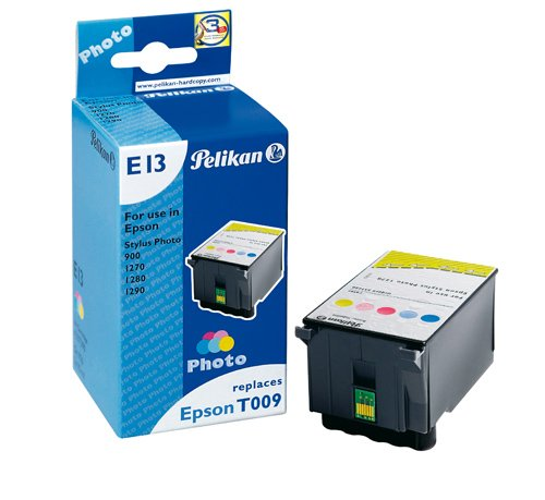 Preisvergleich Produktbild Pelikan E13 Druckerpatrone ersetzt Epson T009 401, 5 x 15 ml, 5-color