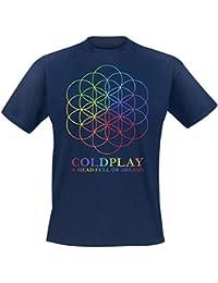 Coldplay A Head Full Of Dreams Camiseta Azul marino