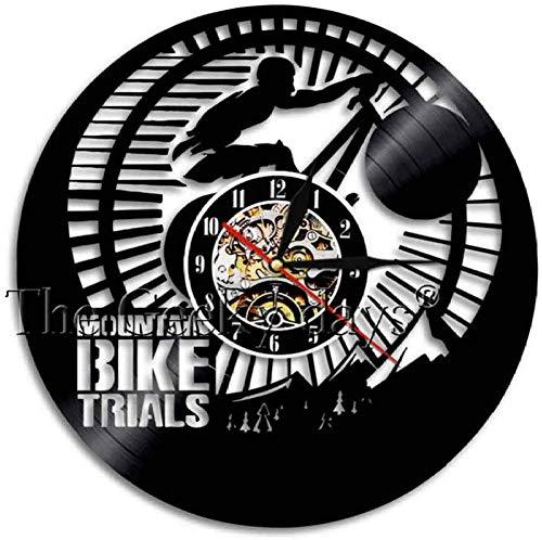ttymei Reloj de Pared Ciclismo Bicicleta Moderna decoración del ...