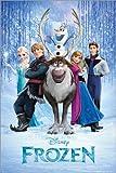 Póster Frozen - cartel económico, póster XXL