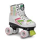 Roces Kolossal Roller Skates, Bianco/Verde, 36